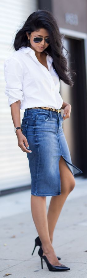 Love this simple and classic look.