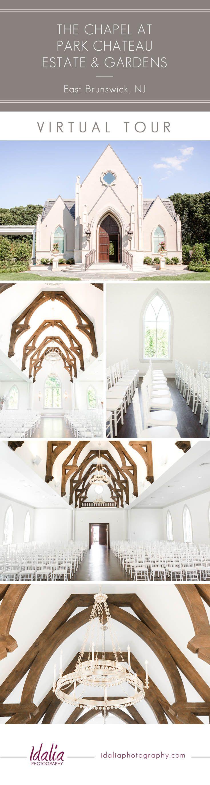wedding venues asbury park nj%0A Virtual Tour of Chapel at Park Chateau Estate and Gardens   Luxury NJ  Wedding Venue in