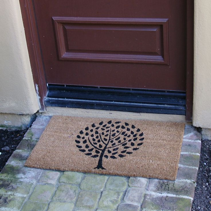Rubber-Cal, Inc. Modern Landscape Contemporary Doormat
