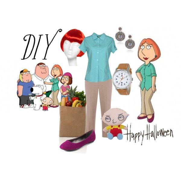 """Lois Griffin from Family Guy"" by maria-kuroshchepova on Polyvore"