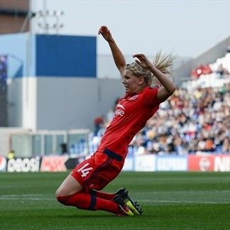 Lyon success has not sated Hegerberg's hunger #FansnStars