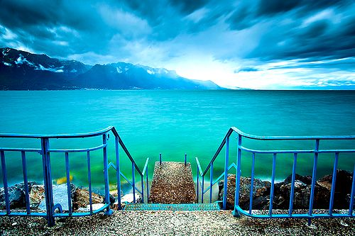 Lake Leman, Switzerland