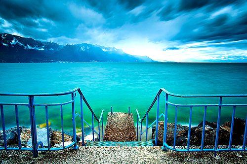 Lake Leman, Switzerland: Turquoise Water, Lakes Geneva, Lakes Leman, Favorite Places, Dreams, Turquoi Water, Beautiful Places, Switzerland, Lakes Léman