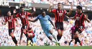 Raheem Sterling works his magic against Bournemouth