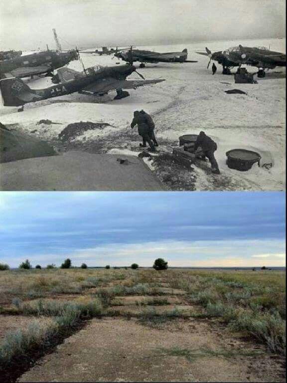 Then Amp Now Tatsinskaya Airfield Stalingrad Battle Of