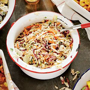 Side Dish Smackdown Winner: Best Coleslaw:  Southern Living's Chipotle-Cilantro Slaw... Easy using a pkg of shredded coleslaw mix and canned chipotle chile peppers in adobo sauce.  EASY and a 5 ***** star recipe.   Must try recipe