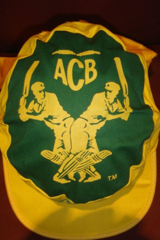 C'mon Aussie Cmon Cricket Cap Original ACB Logo vintage Australian WSC 70s Hat | eBay