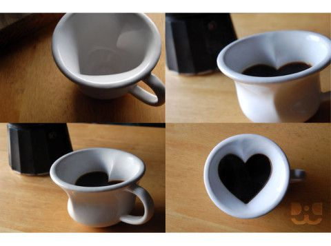 Hidden Heart Espresso Cup - daniel j chamberlin