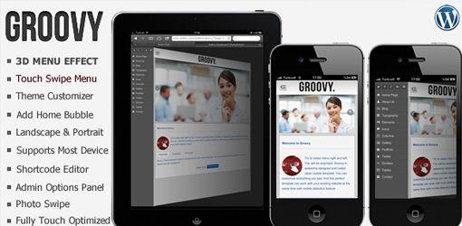 15+ Temi WordPress Premium per progetti Mobile | JuliusDesign