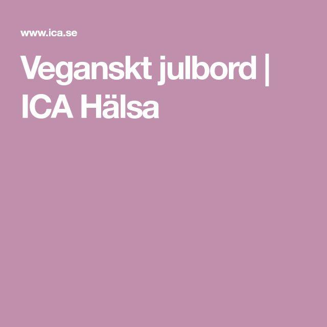 Veganskt julbord | ICA Hälsa