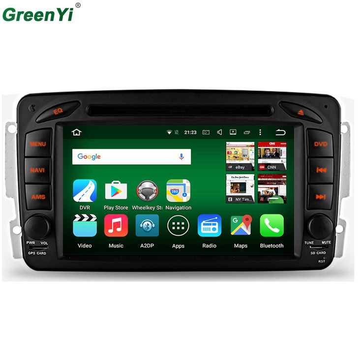 Android 6.0 Octa Core CPU 2GB RAM Car DVD Player For Mercedes Benz Viano Vito W203 W209 G Class W463 GPS Navigation Radio Stereo //Price: $465.74 & FREE Shipping //     #dashcam