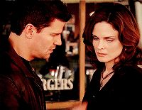 Seeley Booth & Temperance Brennan, Bones.
