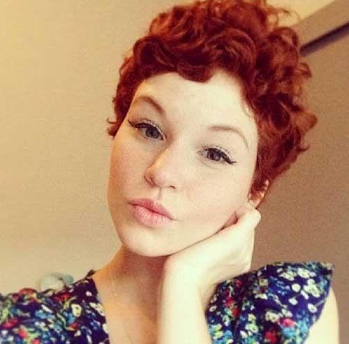 Asymmetrical pixie cutslook definitely great on curly hair.Soft bangs create…
