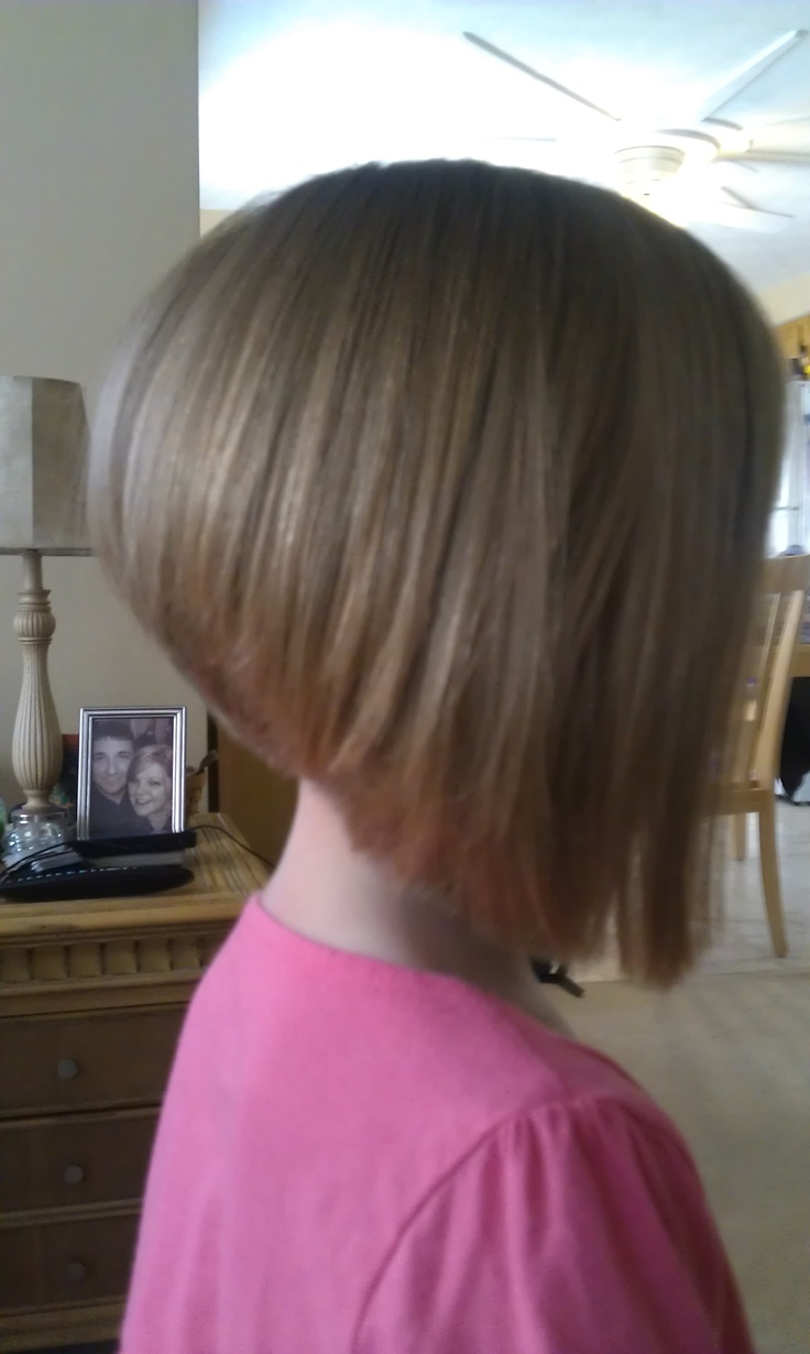 Children S Hairstyles Angled Bob Hairstyles Kids Hair