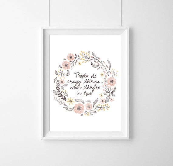 quote DisneyHerculesPeople do crazy by WeJustLikePrints on Etsy