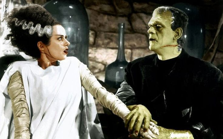 The Bride of Frankenstein, released in 1935, was the first sequel to Frankenstein, and was also directed by James Whale. Boris Karloff reprised his role as The Monster and the bride was played by Elsa Lanchester, another Londoner, who had studied dance in Paris under Isadora Duncan. The makeup was done by Jack Pierce, who shortened the Monster's hair from the 1931 film.