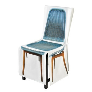 Fitihex Zip Chair Cover Blue, 48€, now featured on Fab.