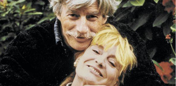 Jean Ferrat et sa seconde épouse Colette