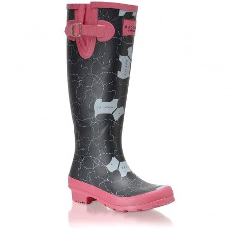 In Stitches,Long Wellie Boot