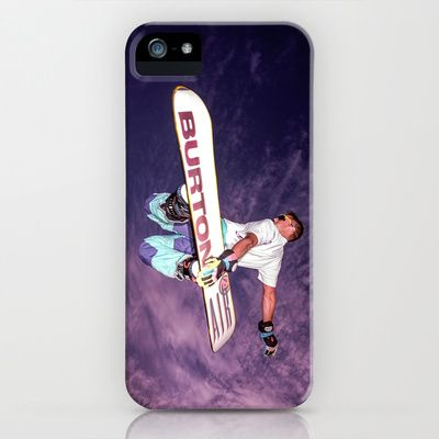 Snowboarding 2 iPhone & iPod Case by Bruce Stanfield - $35.00