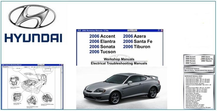10 best hyundai repair service manuals images on pinterest ps hyundai 2006 factory service manual fandeluxe Image collections
