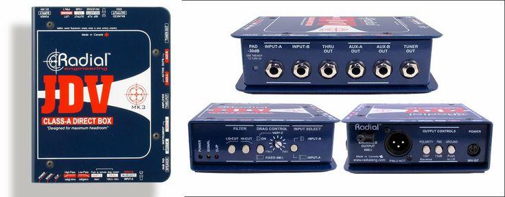 Radial JDV™ Active Super Direct Box