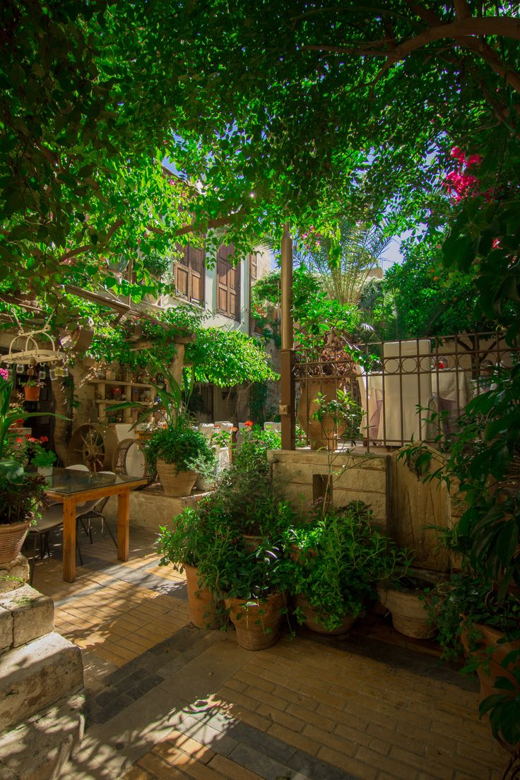 Reserved for valry fetrow wooden cornice primitive picture - The Streets Of Rethymno Crete How Gorgeous Is This Perfection Cluttered Courtyard