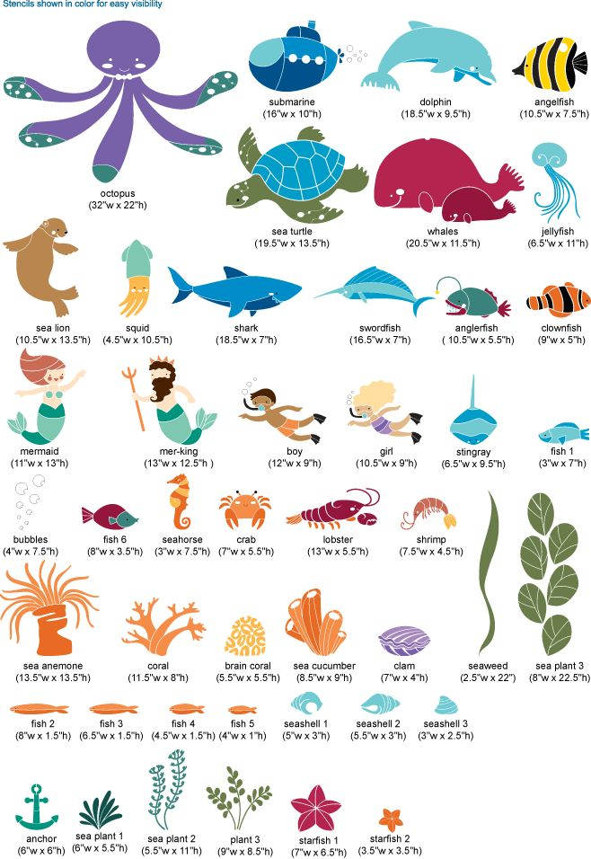 underwater theme for baby/kid room
