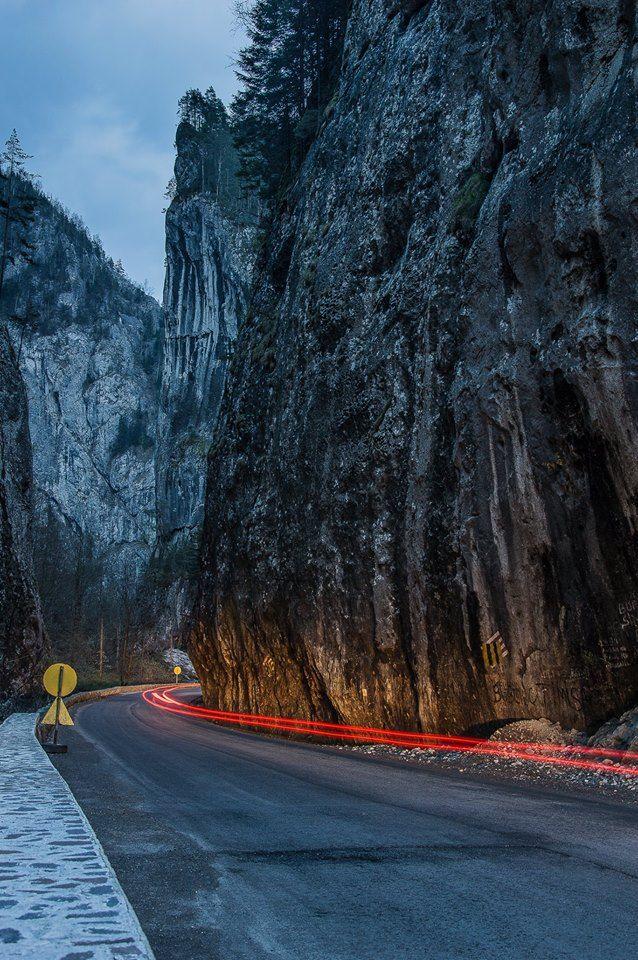 Bicaz Canyon, Red Lake/Cheile Bicazului, Lacul Rosu, Romania (by Alexandru George)