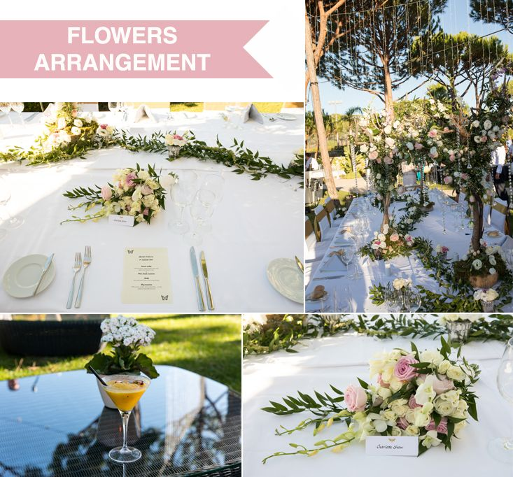 #flowersdecoration: There are so many reasons to pick the right flowers for your big day. Click by: Paulo Padrela #weloveweddings #inspirationweddings #paulaandkarina #awp #wi #Algarve #Portugal #destinationweddings #whiteimpactweddings #decoration