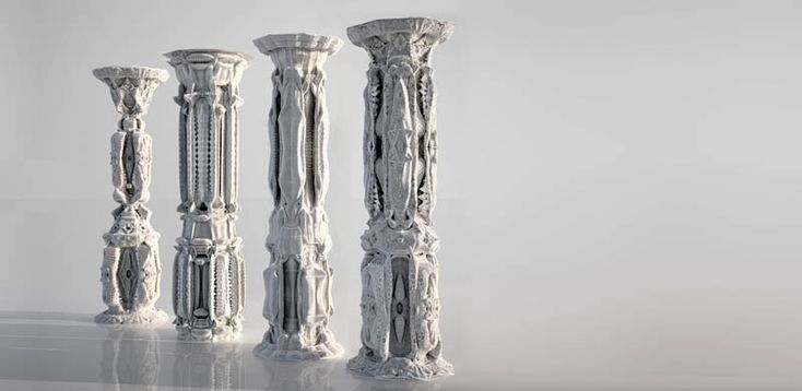 Architect and programmer Michael Hansmeyer has undertaken a most ambitious project, designing an incredibly ornate and complex column with over 16 million individual facets!