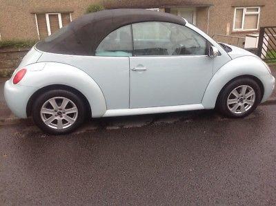 eBay: 2004 04 Volkswagen Beetle 1.9TDI Cabriolet / Convertible - Duck Egg Blue / rare #vwbeetle #vwbug #vw
