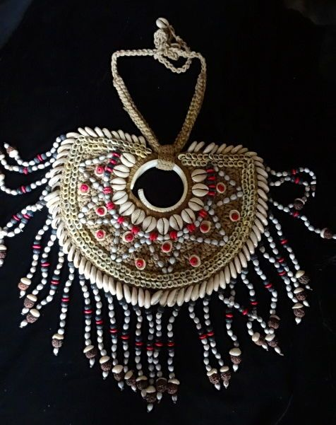 Unique Sea Shell Necklace Natural Fabulous Jewelry Art Women Fashion Home Decor #Unbranded