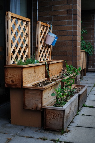 old patio boxes by Grandview Woodlands Food Connection, via Flickr