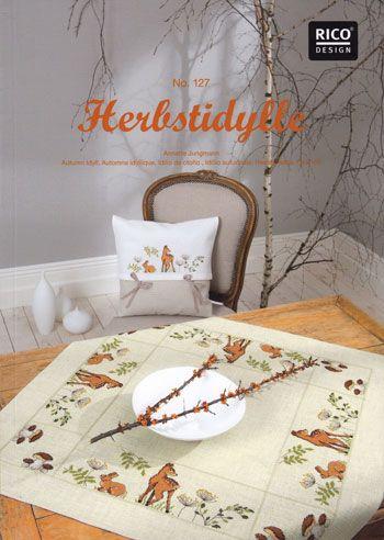 Herbstidylle - book by Rico Design: Idillio Autunnale