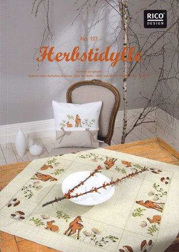 Herbstidylle - book by Rico Design: Idillio Autunnale