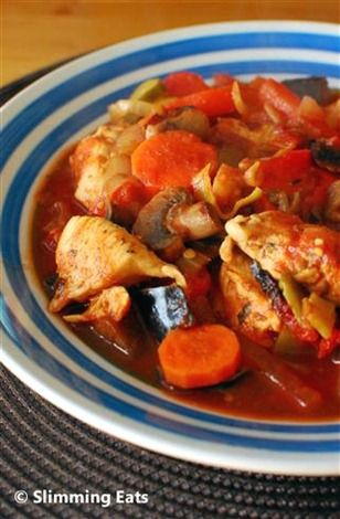 Mediterranean Chicken Casserole | Slimming Eats - Slimming World Recipes