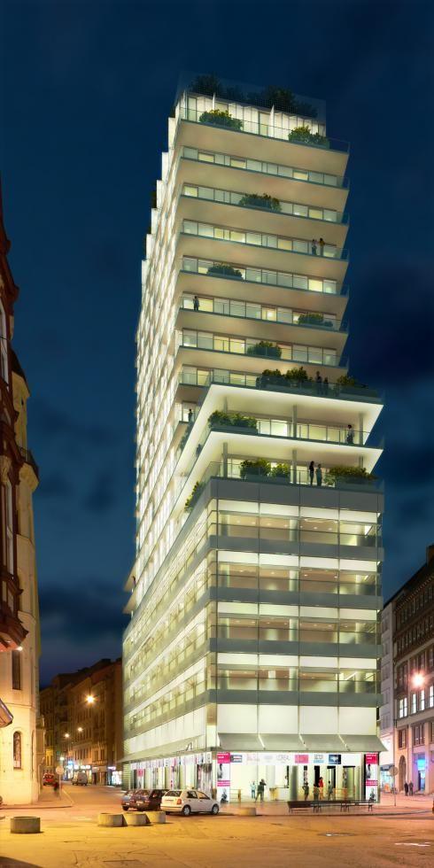 ♂ Sustainable architecture Bata Skyscraper