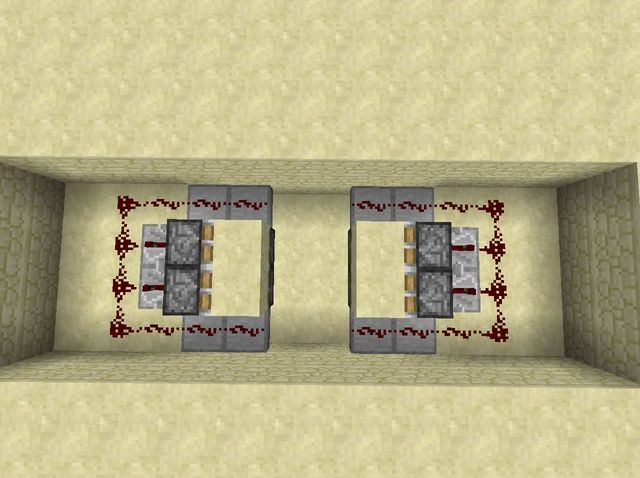 How to Make a Horizontal Retractable 2x2 Piston Door & 8 best Minecraft Tripwire Hook to Make Trap images on Pinterest ...