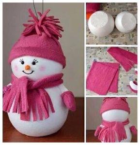 bola muñeco de nieve