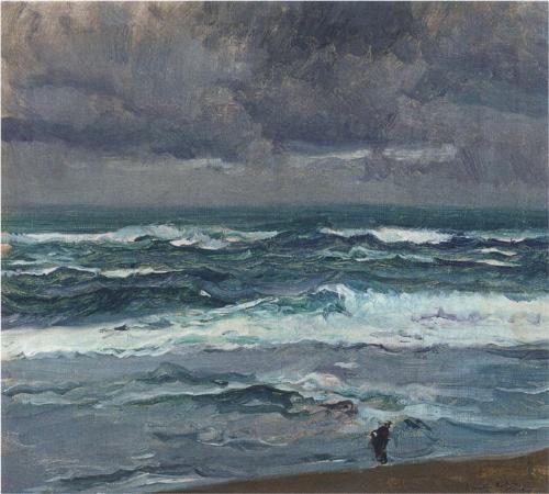 Seascape - Joaquín Sorolla
