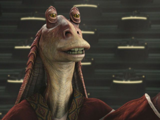 I got: Jar Jar Binks! Which Star Wars Character Are You? Are you kidding? He's my favorite!