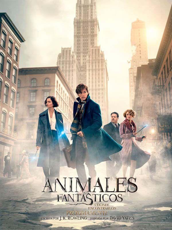 Animales fantásticos y dónde encontrarlos. Estreno 18 de noviembre en CineZona. CC Zona Este. Cines en Sevilla