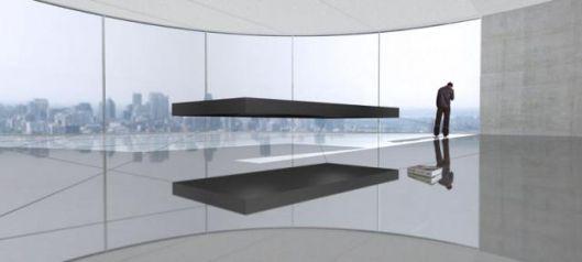 Magnetic Floating Bed