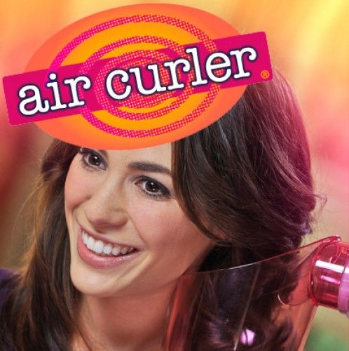 Create beautiful, full, bouncy curls in second with the #AirCurler. Air Curler spins your hair like a tornado to dry and curl your hair in seconds. Easy to use and healthier for your hair than curling irons or hot rollers that can burn hair. #AsSeenOnTV