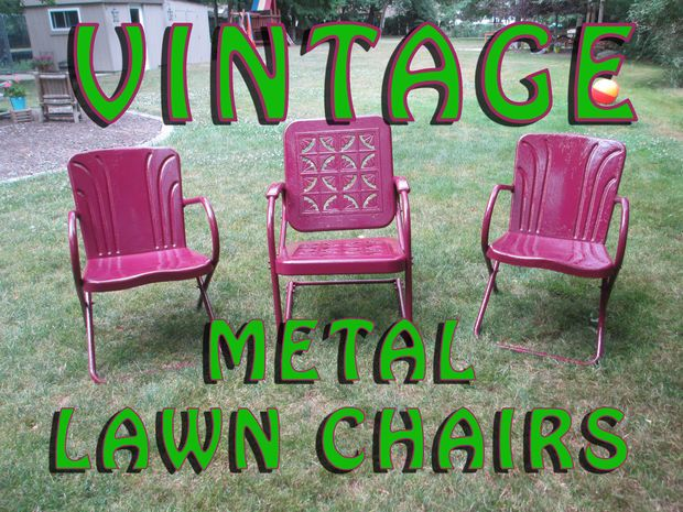 Best 25+ Metal lawn chairs ideas on Pinterest | Vintage ...