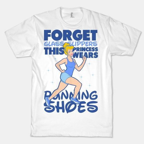 Forget Glass Slippers this Princess Wears Running Shoes | HUMAN | T-Shirts, Tanks, Sweatshirts and Hoodies @Deanna Guerrero