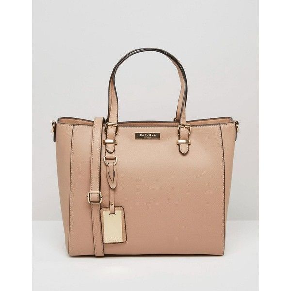 Carvela Tote Bag ($61) ❤ liked on Polyvore featuring bags, handbags, tote bags, beige, single strap handbag, beige tote handbags, beige tote bag, tote handbags and tote bag purse