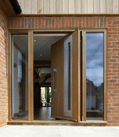 Best Porte Pivotante Images On Pinterest Pivot Doors Front - Porte pivot