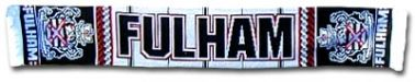Fulham FC Official Crest Scarf